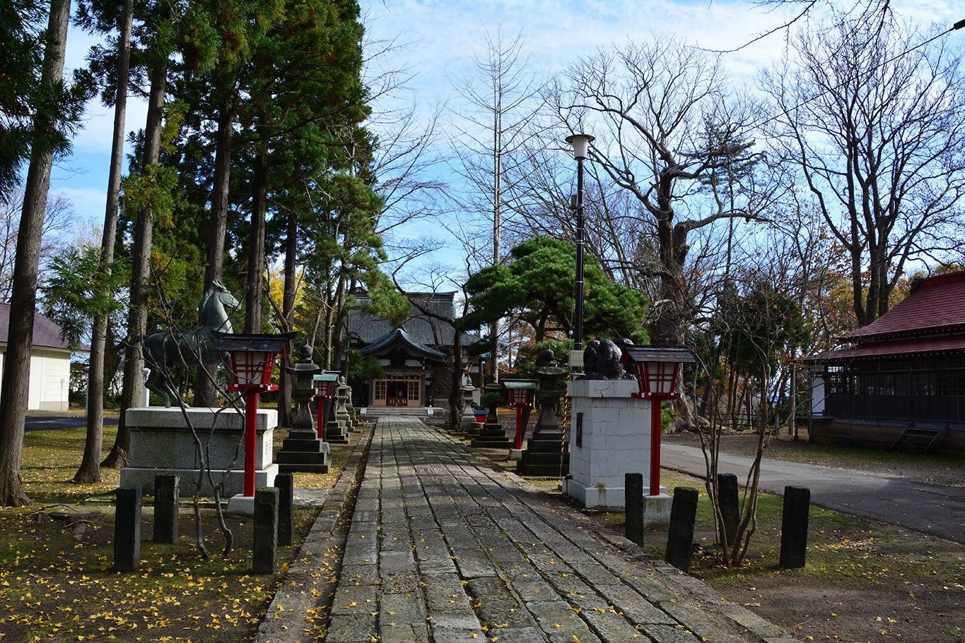 能代市御指南町 日吉神社620201119