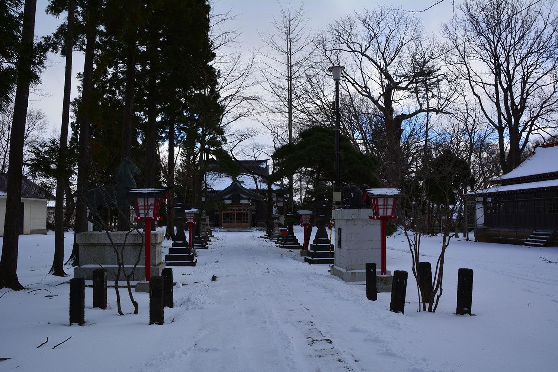 能代市御指南町 日吉神社620201216