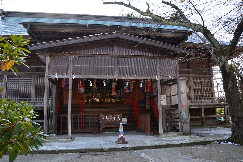能代市柳町 八幡神社220201227