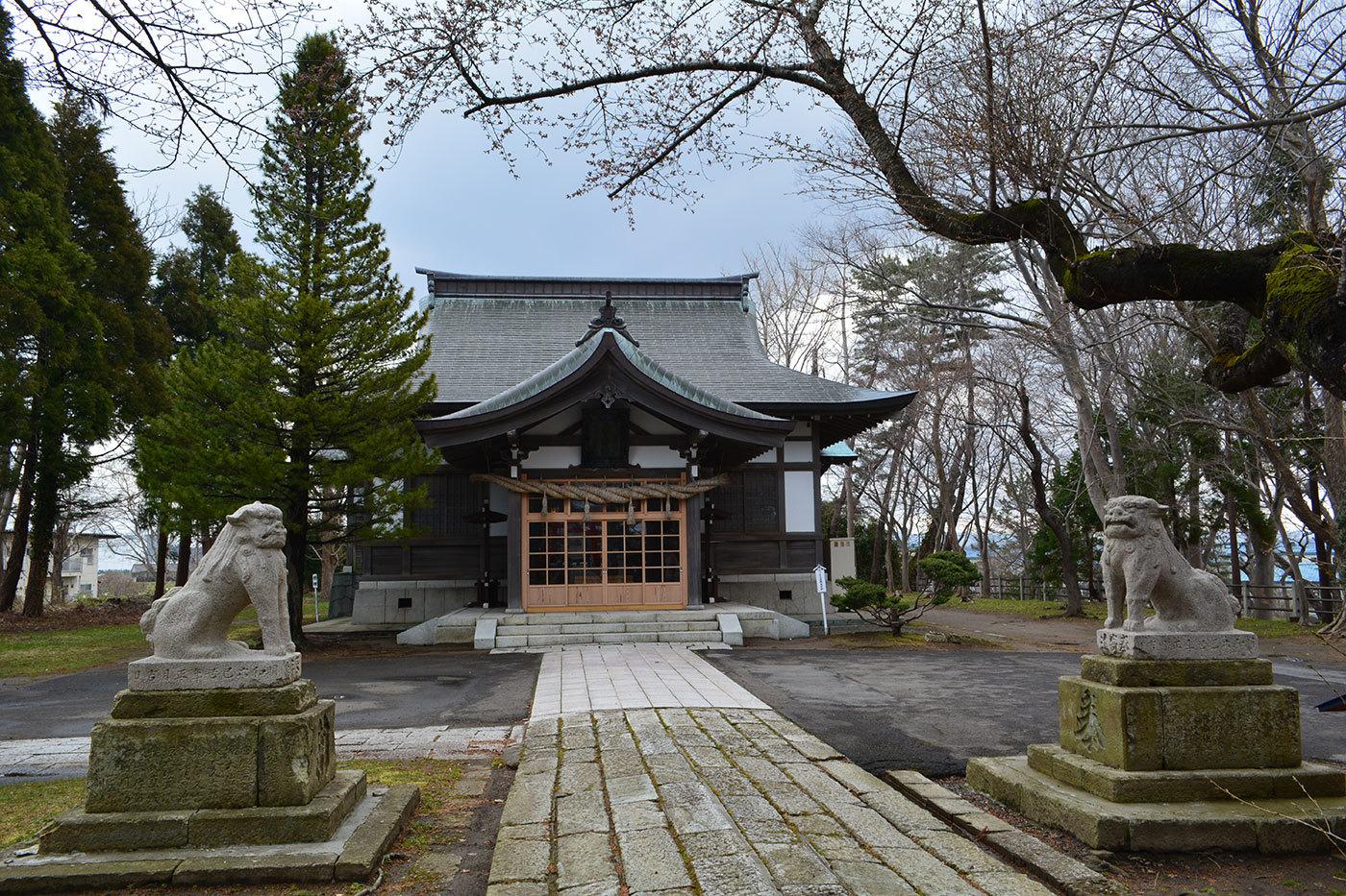 能代市御指南町 日吉神社720200412