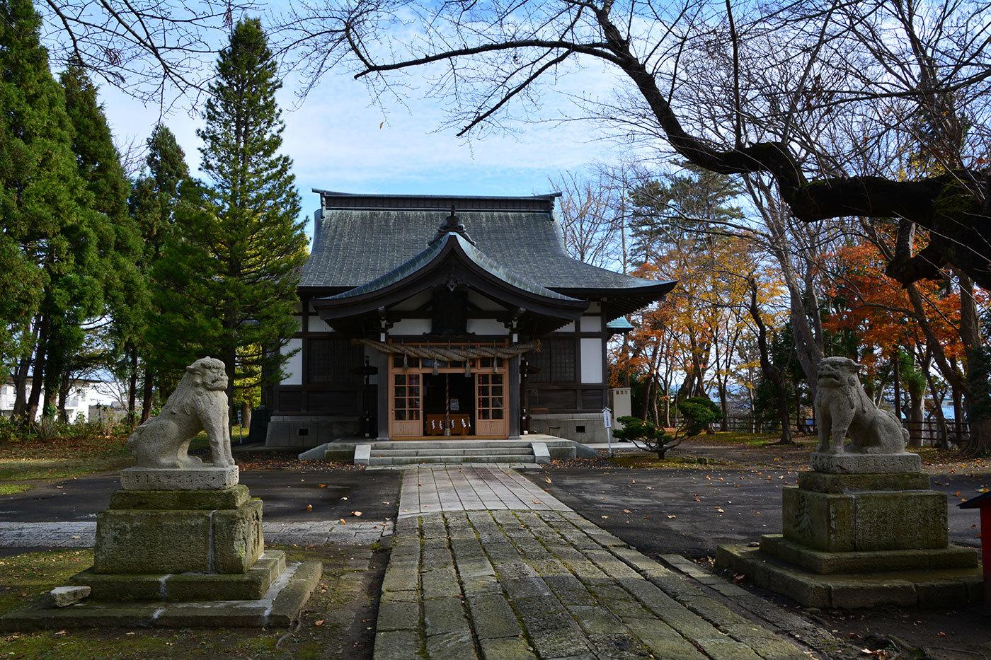 能代市御指南町 日吉神社720201119