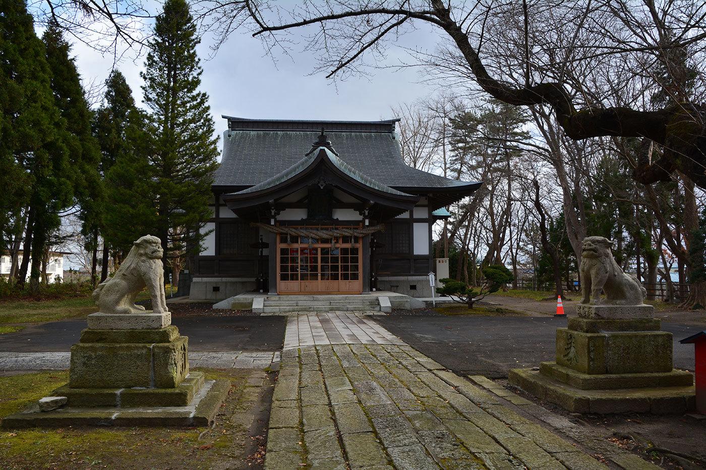 能代市御指南町 日吉神社720201201