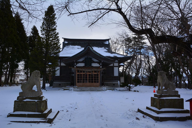 能代市御指南町 日吉神社720201216