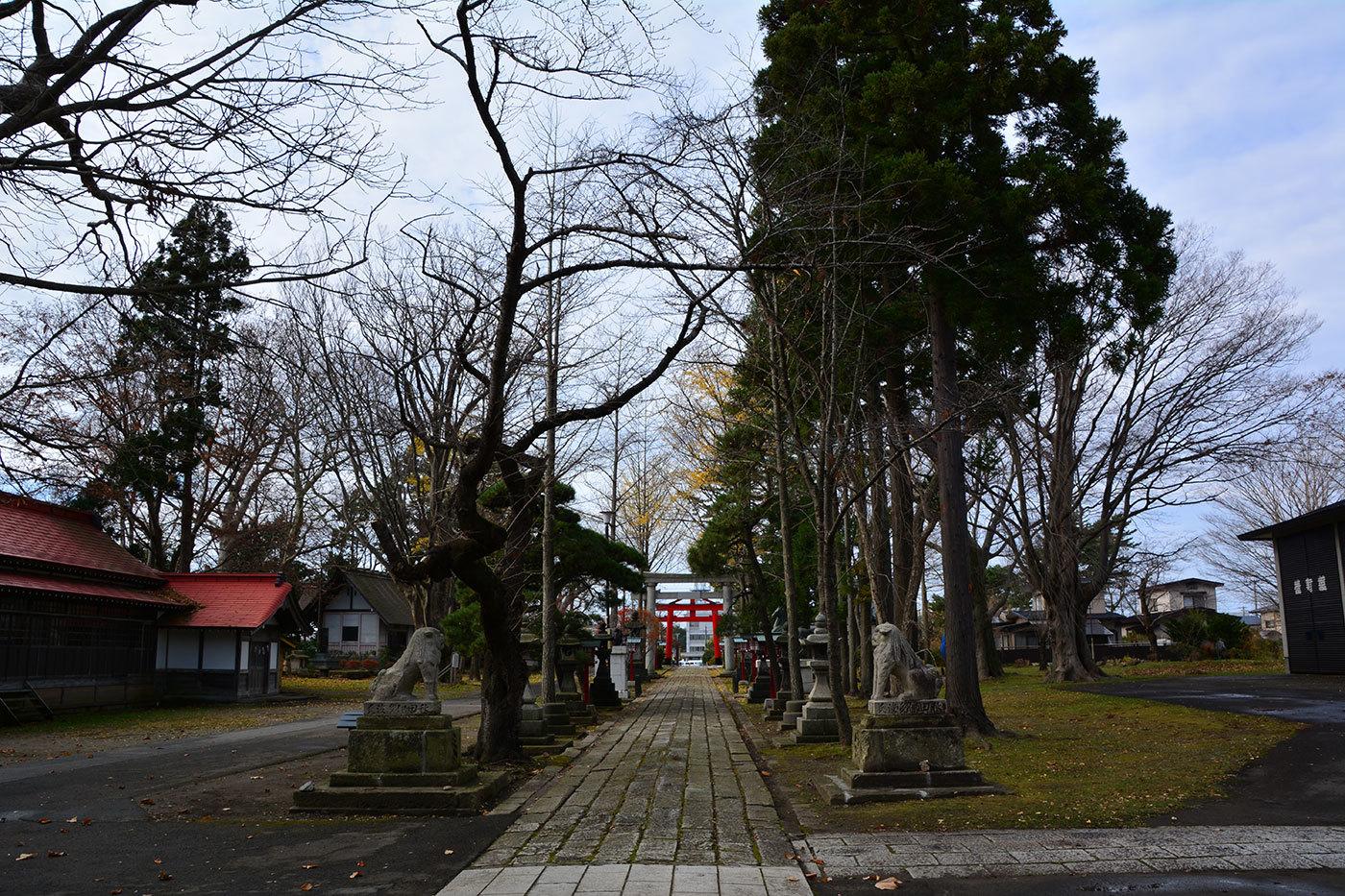 能代市御指南町 日吉神社820201119