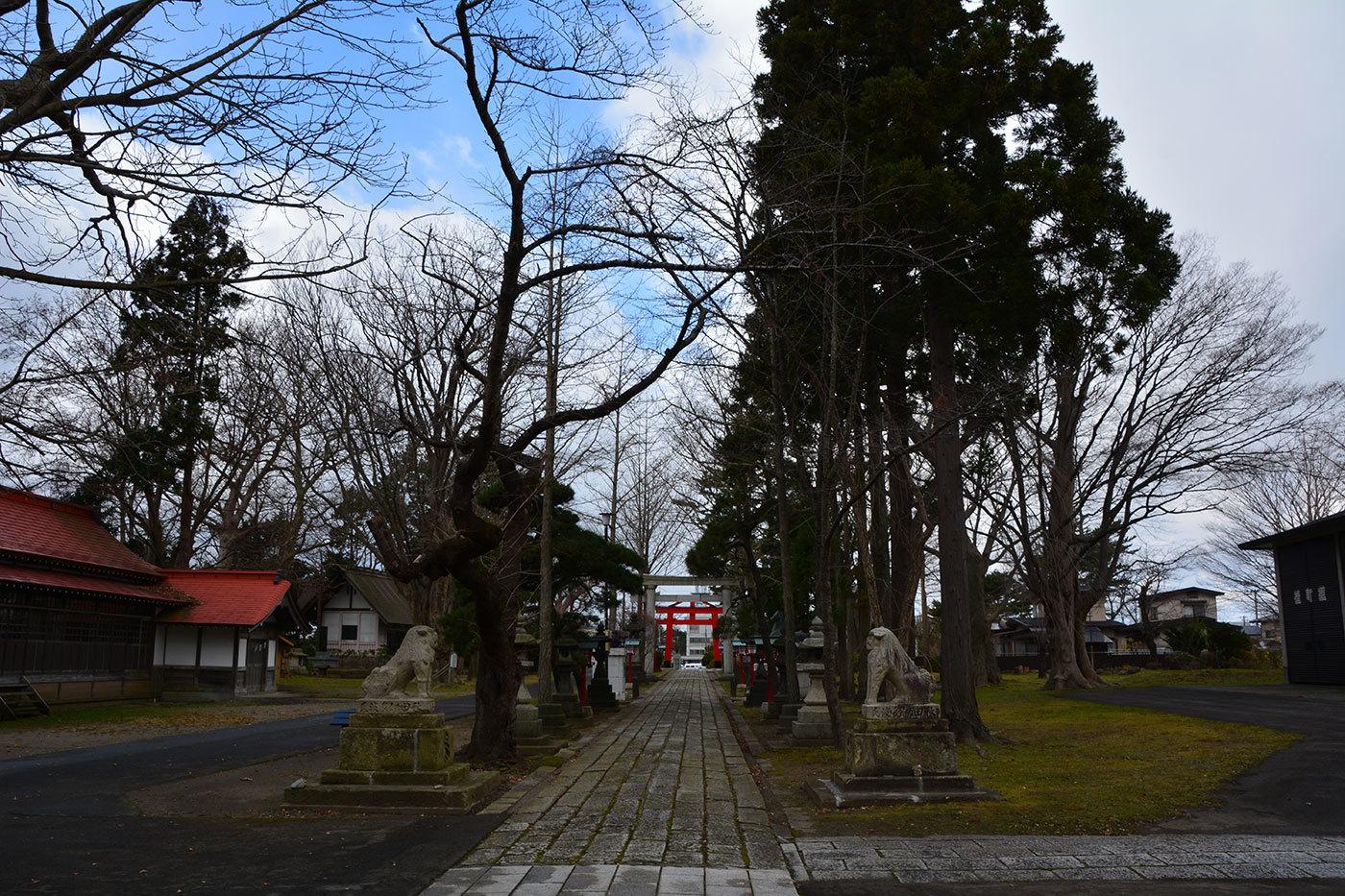 能代市御指南町 日吉神社820201201