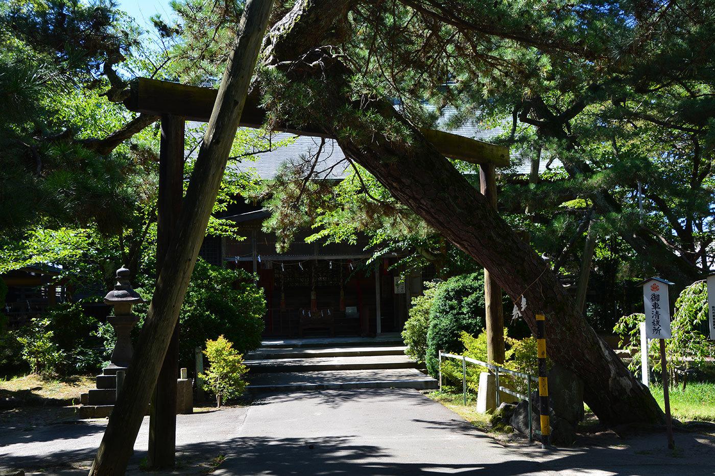 能代市柳町 八幡神社220200901
