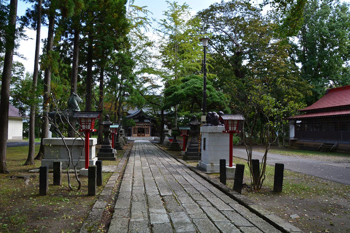 能代市御指南町 日吉神社620201005