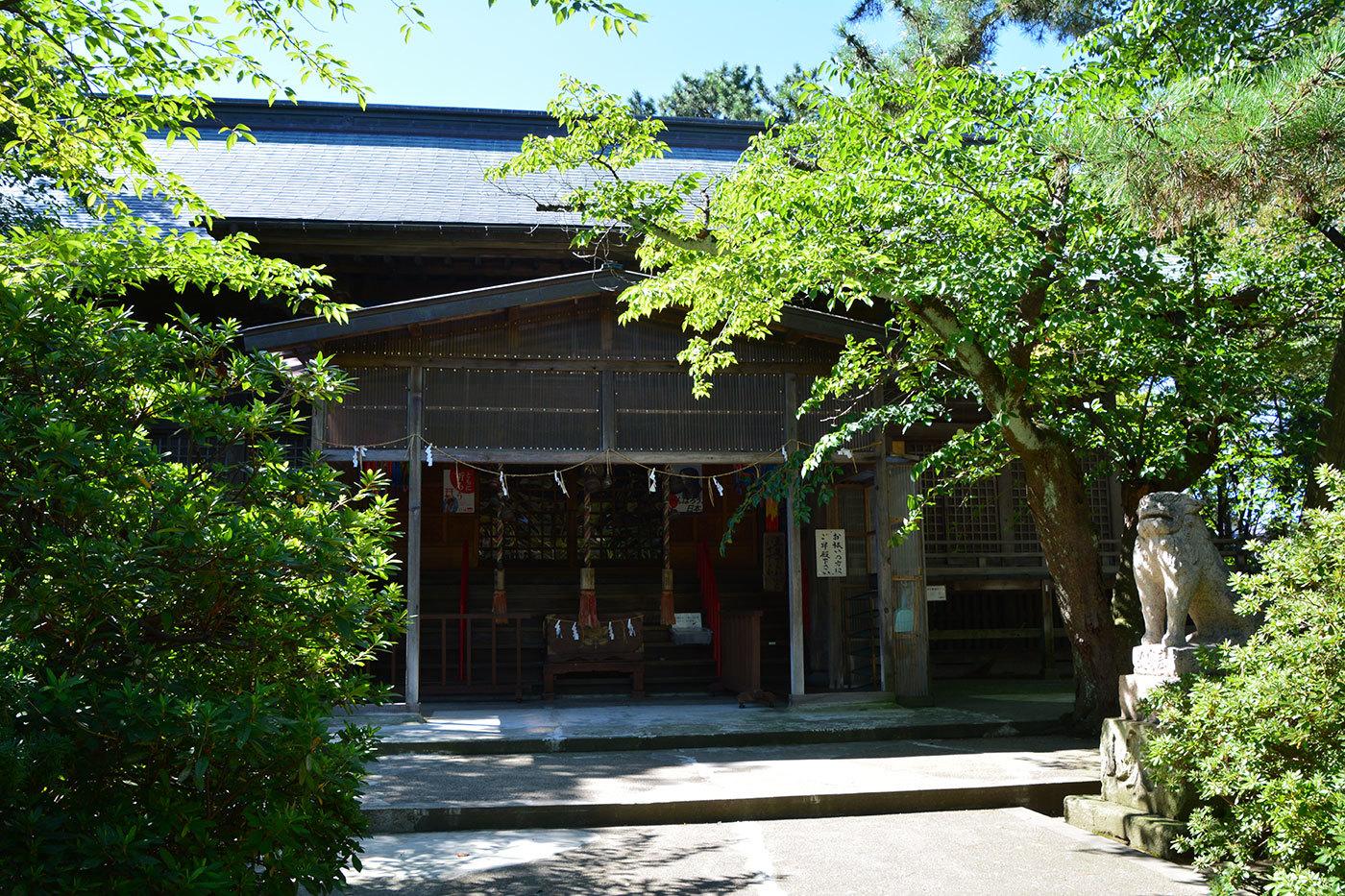 能代市柳町 八幡神社320200901