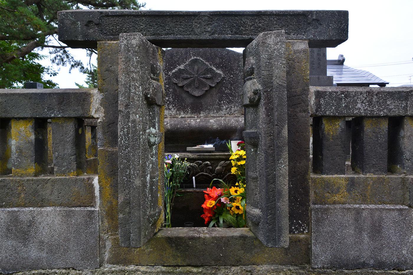 能代市萩の台 願正寺墓地120200813