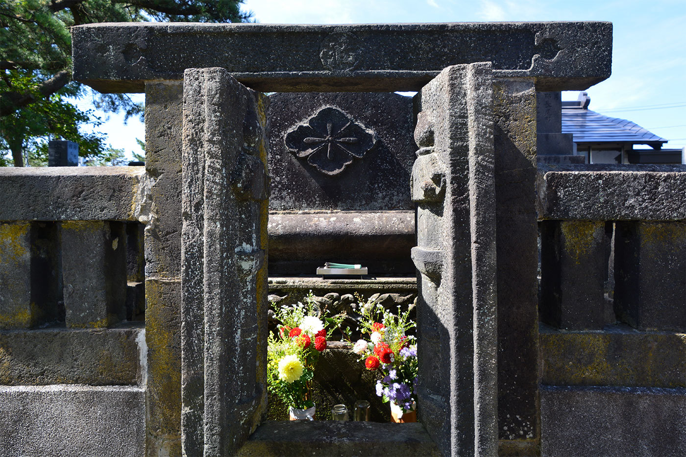 能代市萩の台 願勝寺墓地320200922