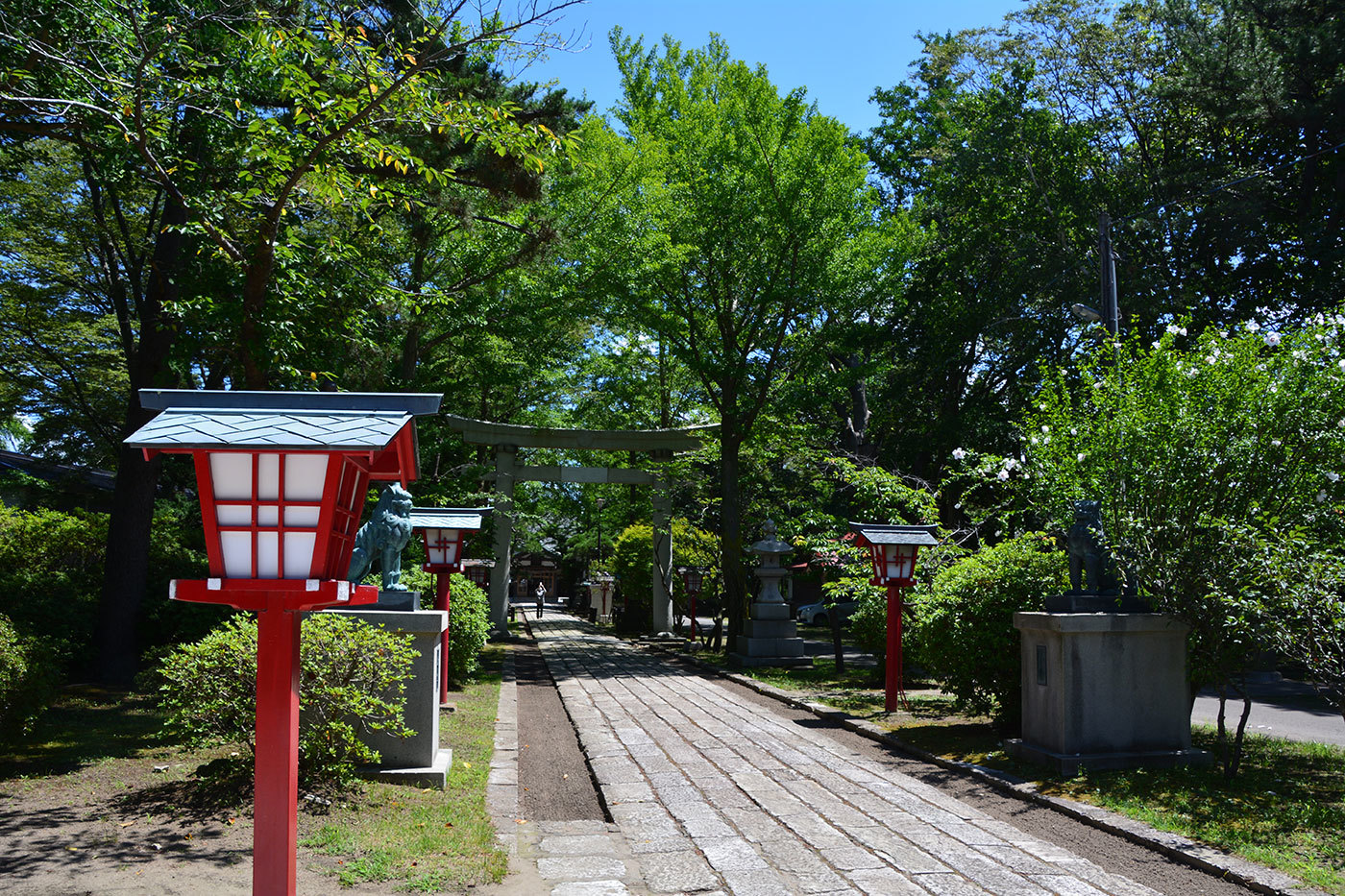 能代市御指南町 日吉神社520200801