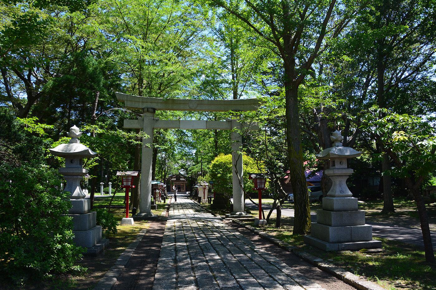 能代市御指南町 日吉神社620200801