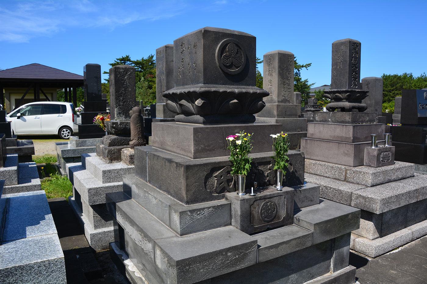 能代市青葉町 西光寺墓地220200922