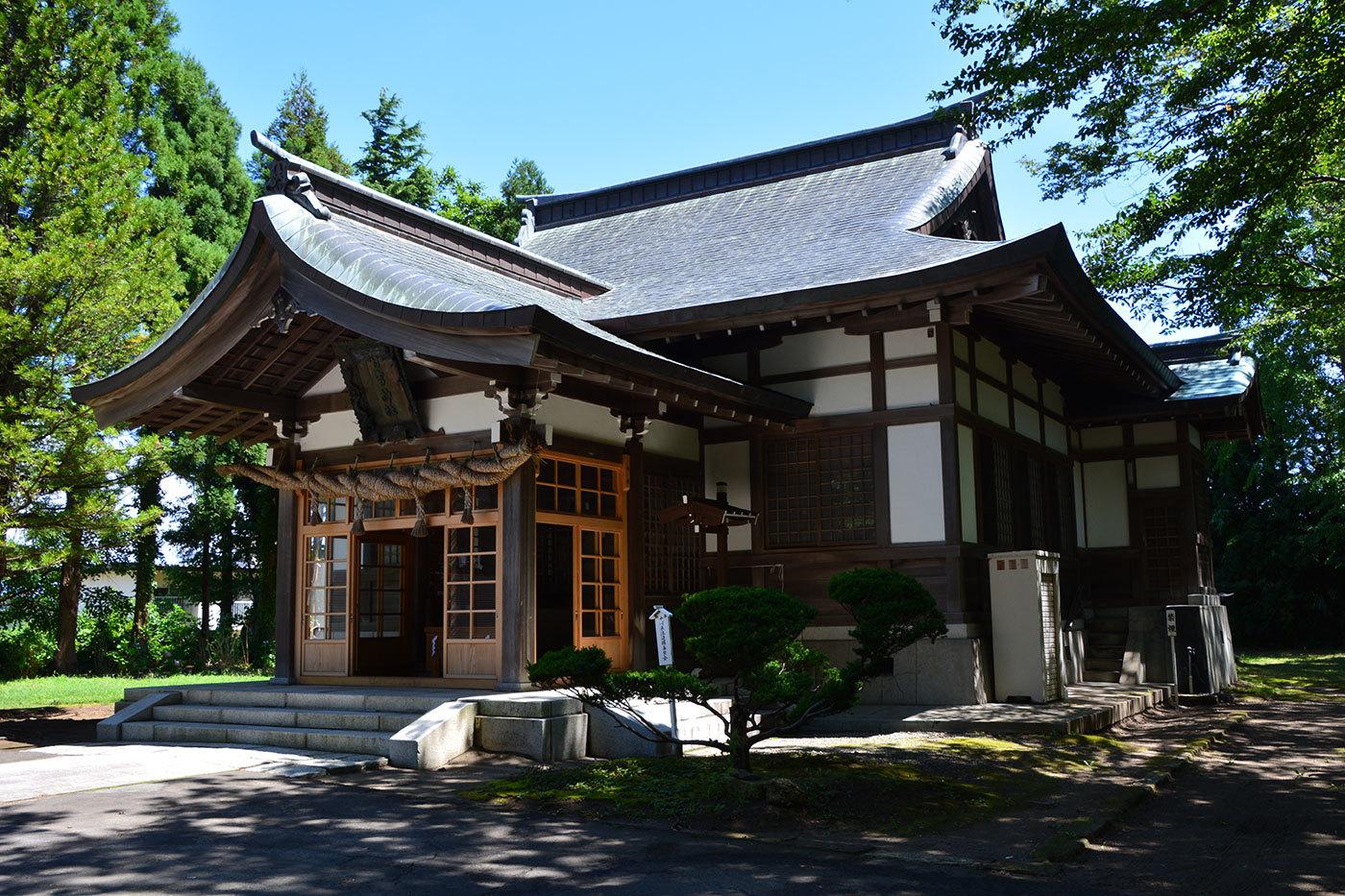 能代市御指南町 日吉神社1020200801