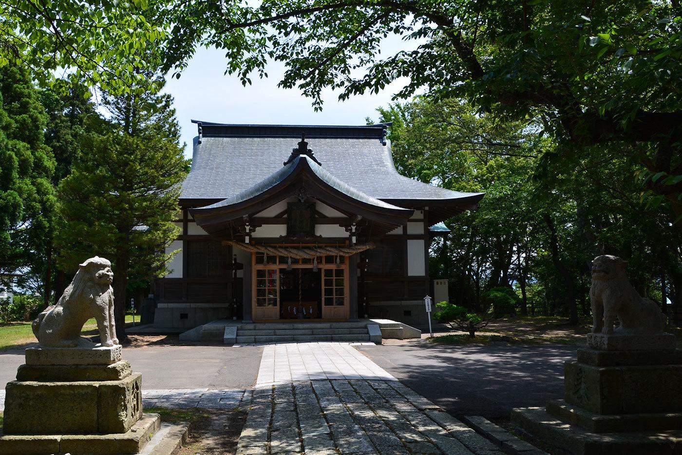 能代市御指南町 日吉神社720200622