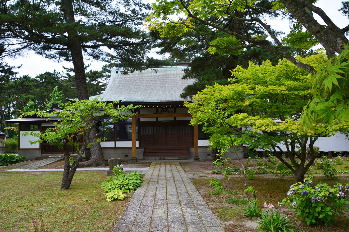 能代市萩の台 敬正寺220200814