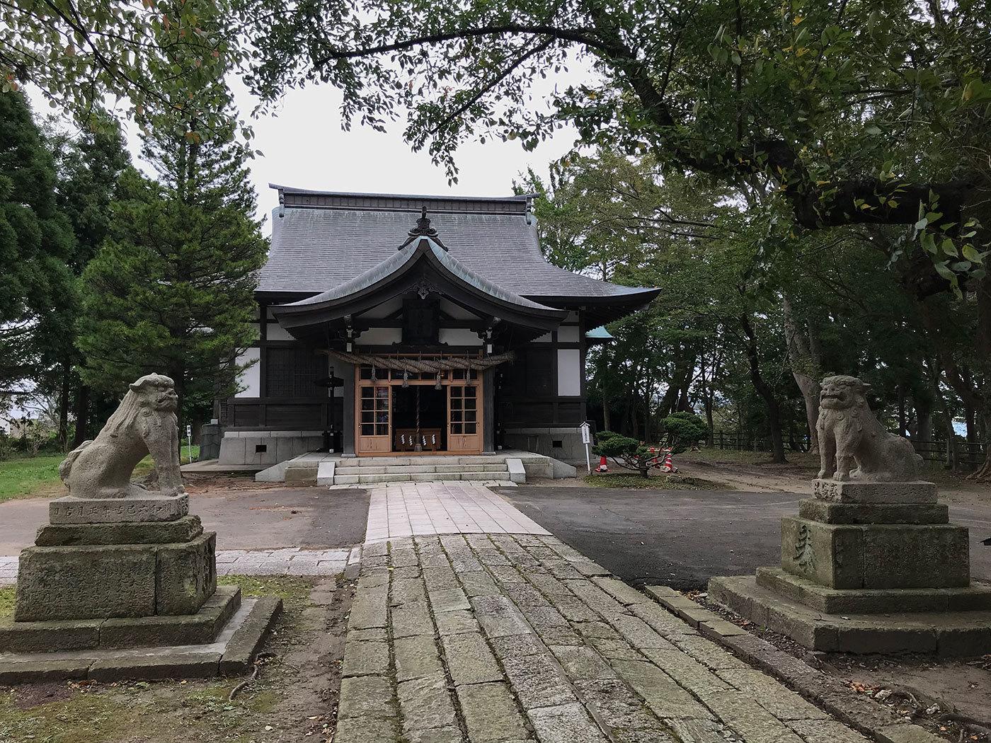 能代市御指南町 日吉神社620200925