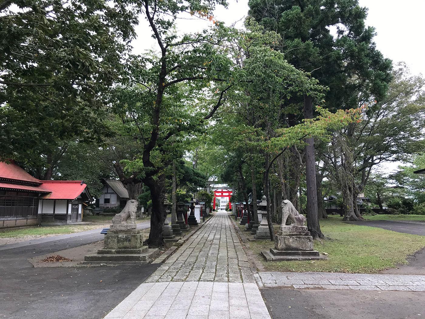 能代市御指南町 日吉神社720200925