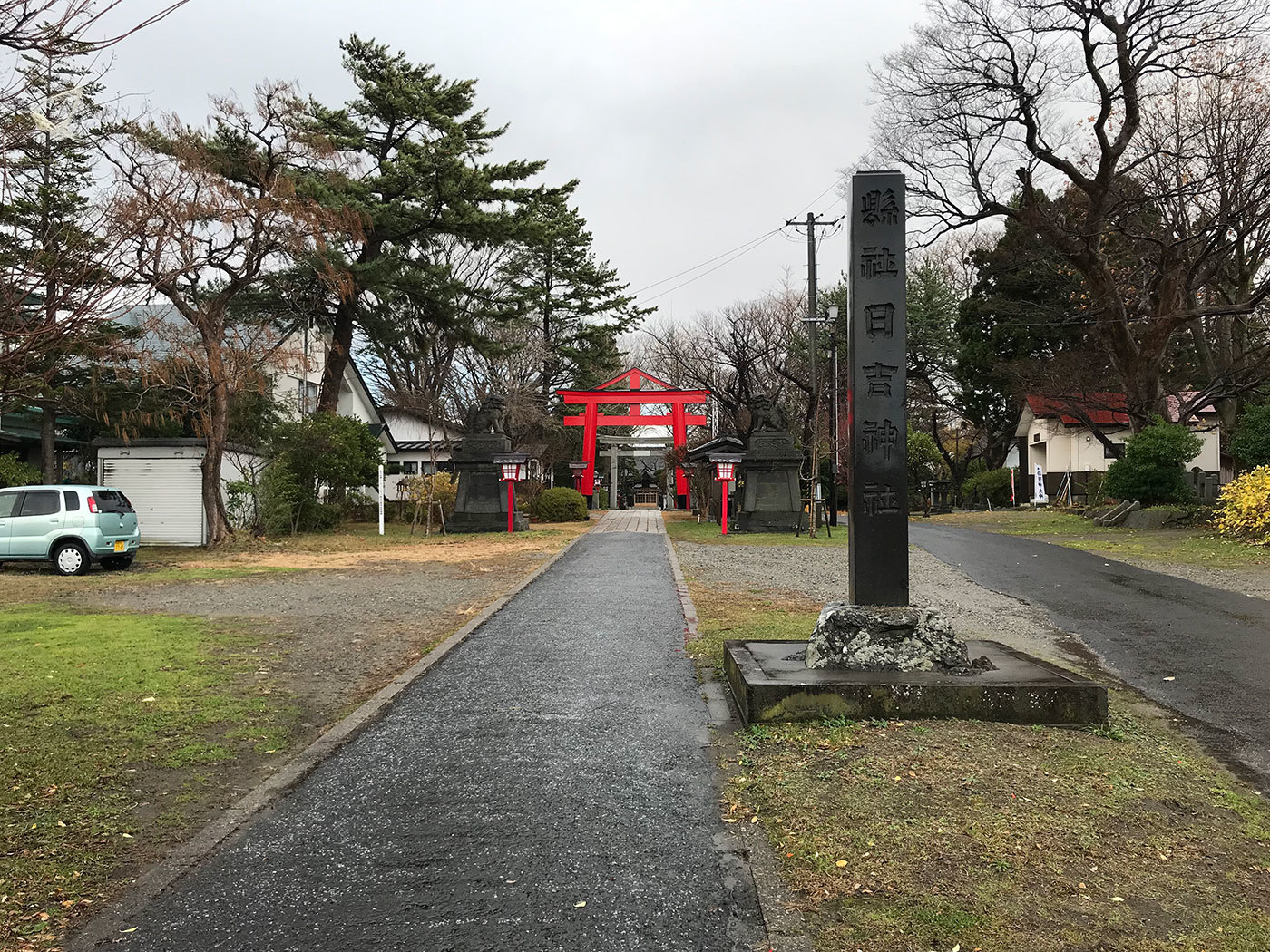 能代市御指南町 日吉神社120201121