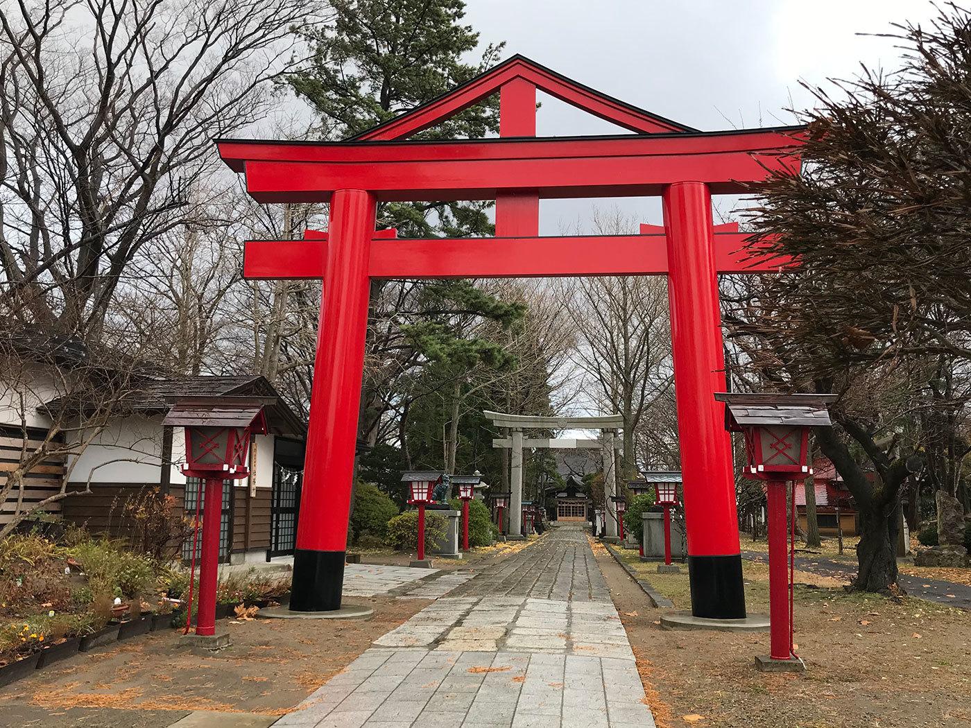 能代市御指南町 日吉神社320201121