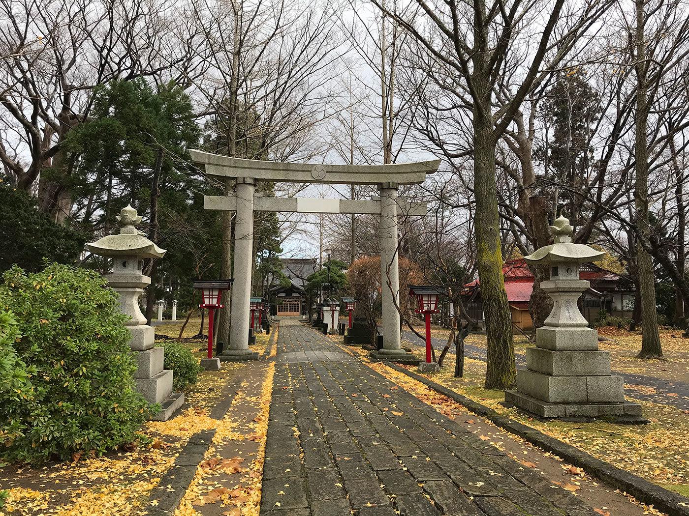 能代市御指南町 日吉神社520201121