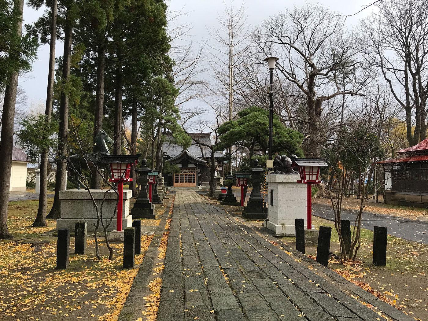 能代市御指南町 日吉神社620201121