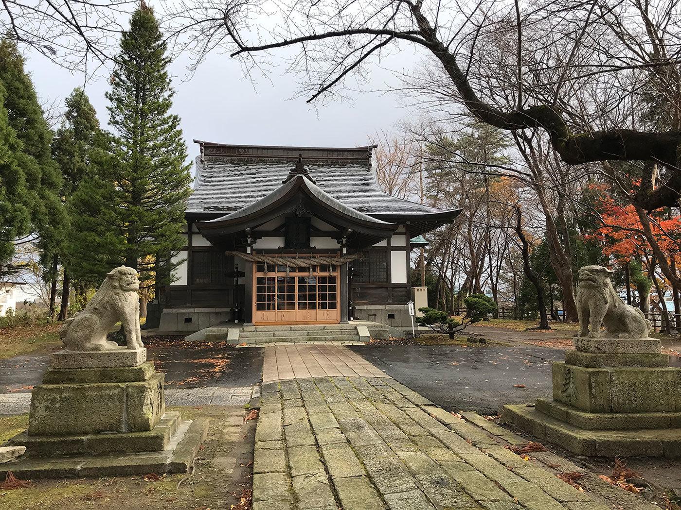 能代市御指南町 日吉神社720201121