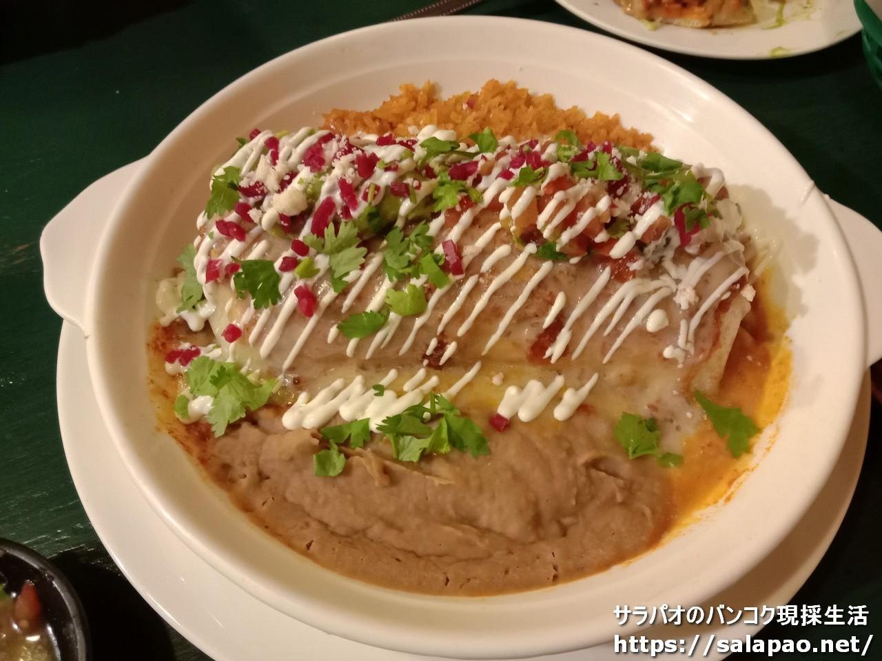 ラ・モニータ・タケリアは在住外国人に人気のメキシコ料理店 in プルンチット