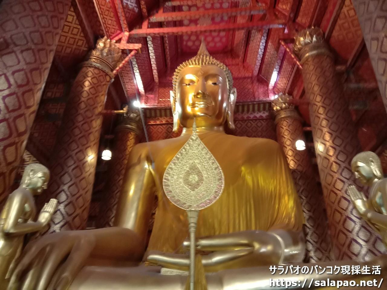 ワット・パナンチューンは縁起が良いとされる歴史ある寺院 in アユタヤ