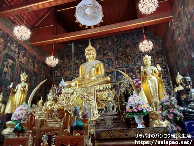 アユタヤにある寺