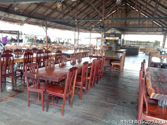 แพอาหารโฟลทติ้ง(Floating Raft Restaurant)