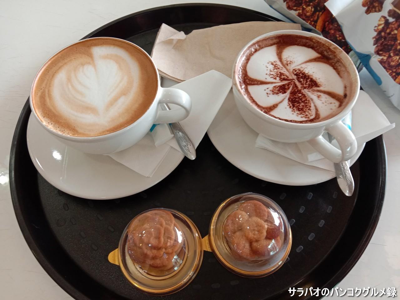 クンサーイチョンはコーヒー、ケーキどちらも美味しいおすすめのカフェ in カンチャナブリ