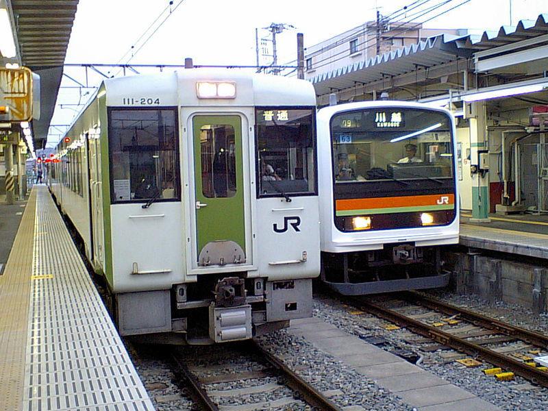 高麗川駅 ホーム