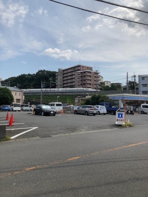 山崎 新幹線交差地点