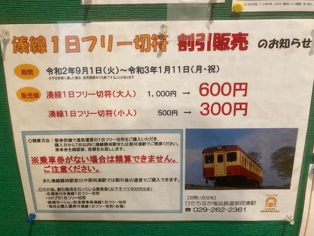湊線 1日乗車券