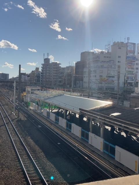 鶴見駅 改修工事
