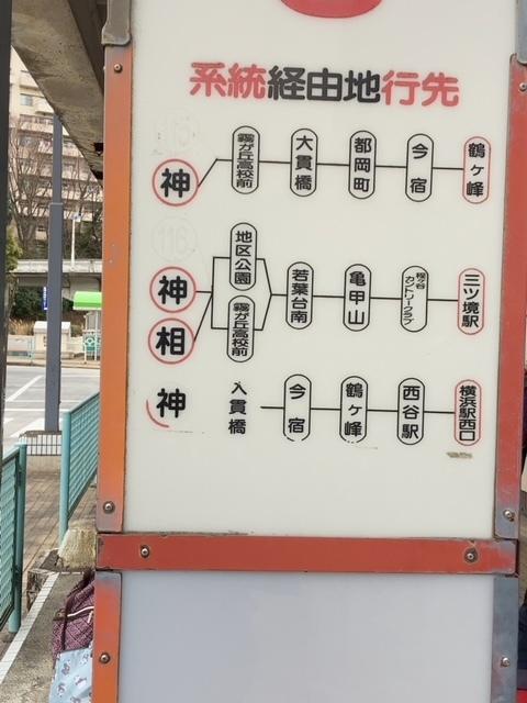 若葉台中央 乗り場3