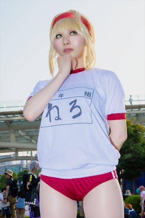 FGO ネロ にゅにゅる コスプレ 3