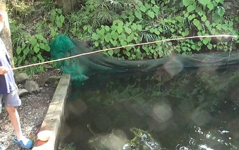 境渓谷-釣り