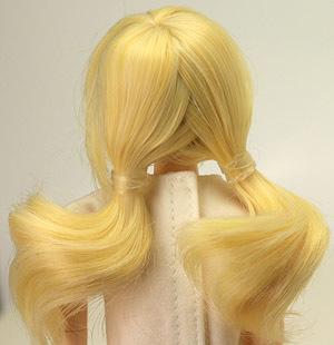 4inch おさげ髪