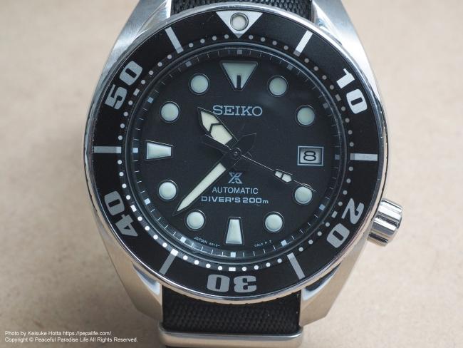 テストショット2 腕時計 SEIKO SBDC031 SUMO FL-900Rで天井にバウンスさせて撮影