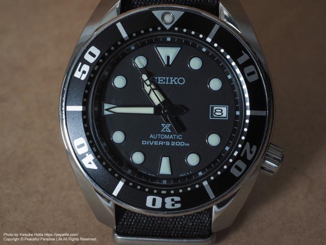 テストショット3 腕時計 SEIKO SBDC031 SUMO FL-900Rで壁にバウンスさせて撮影