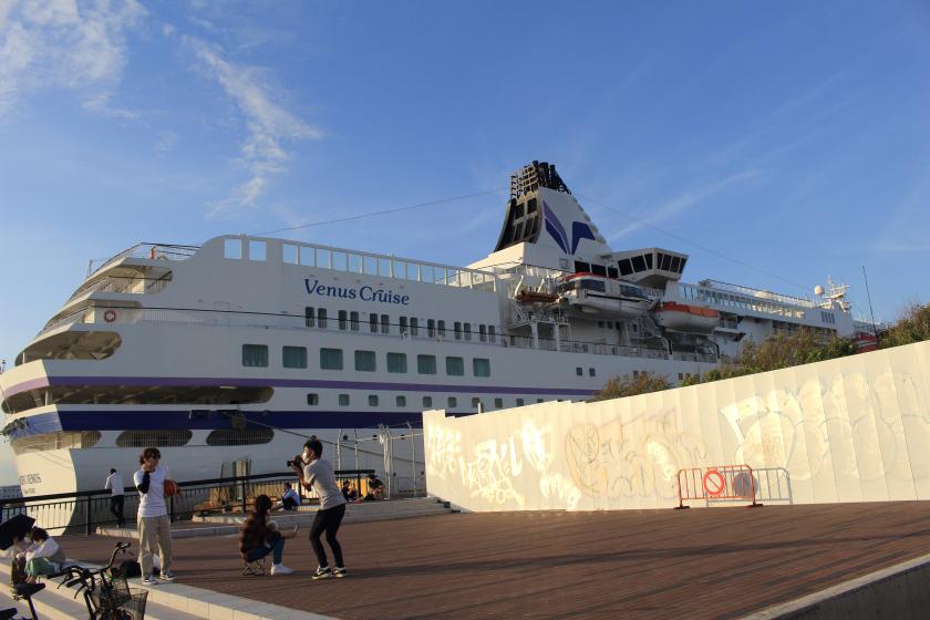 大阪港のぱしふぃっくびいなす