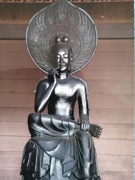 奈良中宮寺の国宝展4