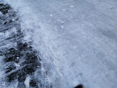2020雪道路