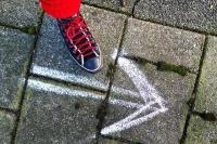 前を向いて歩こう、一歩一歩