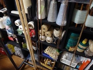 撚り止めした綿糸