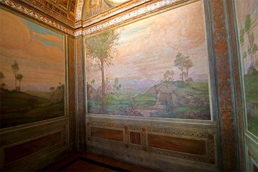 サンマウリツィオ教会の小部屋
