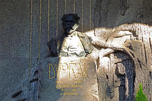 ヴィシェフラッド ドヴォルザークの墓