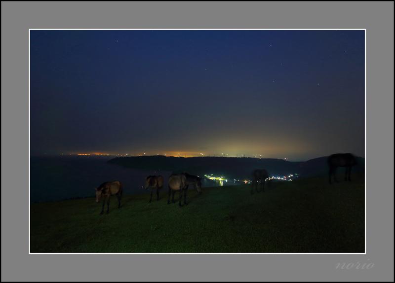 都井岬の夜景